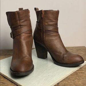 Steve Madden Reesea Cognac Boot 7.5